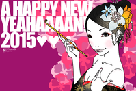 A HAPPY NEW YEAHAAAN!2015年賀3