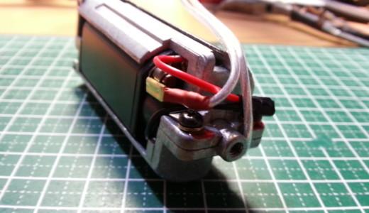 【マルイ AK47コンパクト】モテるコンパクトAKを作る② モーター&配線篇