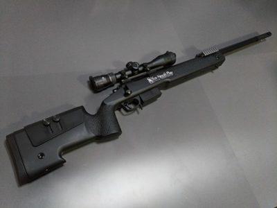 【マルイ M40A5】初M40A5で感じたサバゲースナイパーのコツと反省② マルイ製M40A5のサバゲーインプレ篇
