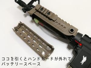 【CAA M4S1 CQB】経年不明トイガン箱出しレビューvol.2① 外観篇